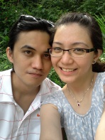 At Sentosa with Lav. (Mar.'12)