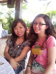 At Royale Gazebo with Kredz. Grand food tasting of Eloquente Caterer and meeting with Amaranthus. (Mar.'12)