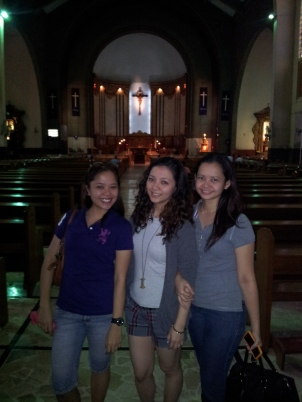 First visit at Mt. Carmel church. (Mar'12)
