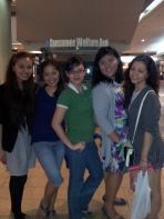 Dinner date with Jae, Sweet, Kach and Angge. (Mar.'12)