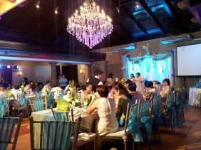 Attended a wedding at Atrium with Laviel. (Mar'12)