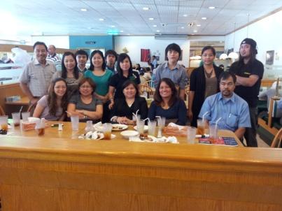 Tito Al and Tita Amy's farewell lunch at Ponderosa. (Jul.'12)