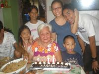 Mama's 90th bday. (Sept.'12)