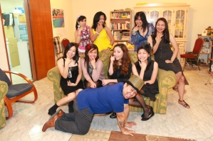 My first bridal shower by SSG ladies. (Jul.'12)