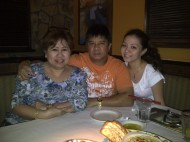 Anniversary lunch with Mom and Dad. (May'12)