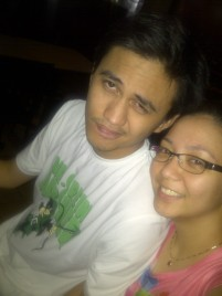 Dinner at Padis Point Sumulong with Laviel. (Mar.'12)