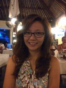 First night dinner at Koh Samui island, Thailand with Laviel. Honeymoon adventure. (Sept.'12)