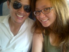 On our flight back to Bangkok. See you again Koh Samui. (Sept.'12)