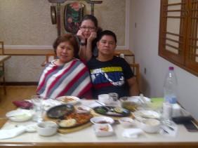 Mom's bday dinner at Arirang. (Jan.'12)