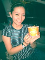 First time to try Gelato with Jemi.