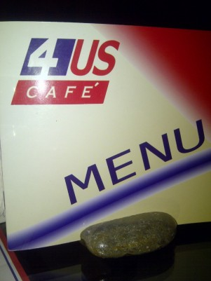 The day we tried 4US Cafe.