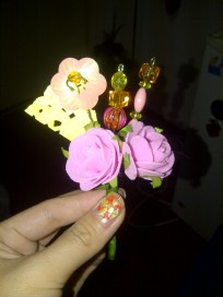 Getting better at DIY-ing the boutonnieres.