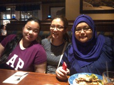 First time to try out Red Lobster with the girls.
