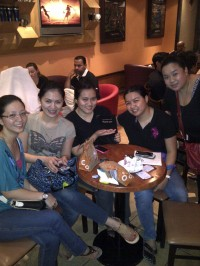 Coffee night with the girls (Jul.'12)