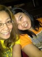 Dinner with my best friend at TGIF. (Sept.'12)