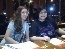 Dinner at Noodle House with the girls.