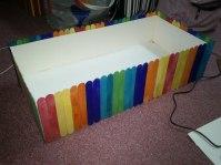 DIY Planter box for the wedding.