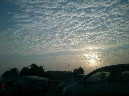 Cloudy morning. (Dec.'12)