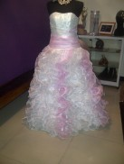 The first time I saw my wedding gown. (Aug.'12)