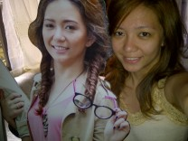 Picture with my life size standee self. (Sept.'12)