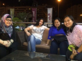 First coffee date with the girls after the wedding. (Oct.'12)