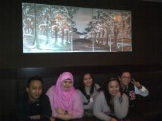At Cafe Ole, Holiday Villa with the gang. (Nov.'12)