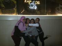 Outside Cafe Ole. (Nov.'12)