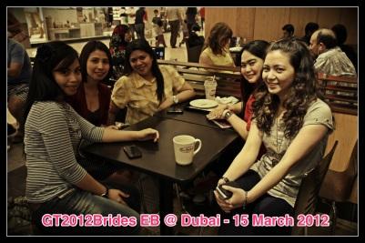 Meet up with Girl Talk 2012 Brides at Dubai. (Mar.'12)