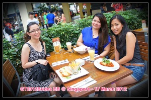 Meet up with Girl Talk 2012 Brides at Singapore. (Mar.'12)