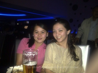 At Boracay night club with May, Philip and Don. (Mar.'12)