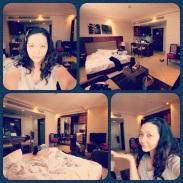 My hotel room in Dubai. (Mar.'12)