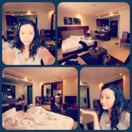 My hotel room in Dubai. (Mar.'12)