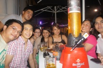 Meet up with the college buddes at Singapore. (Mar.'12)