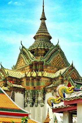 At Wat Po, Bangkok, Thailand. (Aug.'12)