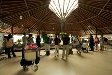 The Samui airport. (Sept.'12)