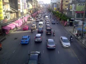 Bangkok in the morning. (Aug.'12)