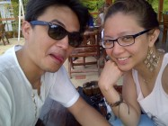 Late lunch somewhere at Koh Samui. (Sept.'12)