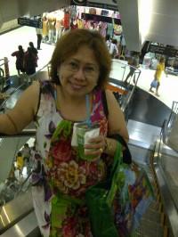 Shopping with Mom at Platinum Mall, Bangkok, Thailand. (Aug.'12)
